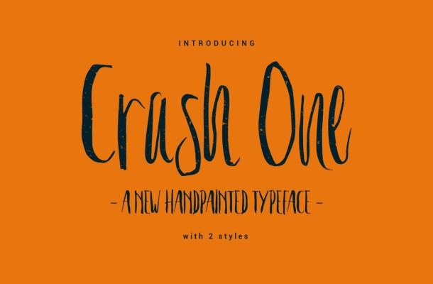 Crash One Free Typeface