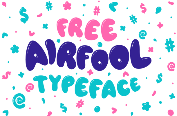Airfool Display Font
