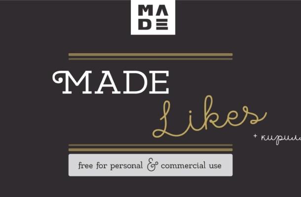 MADE Likes Font