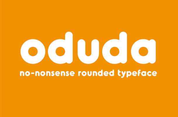 Oduda Rounded Font Free