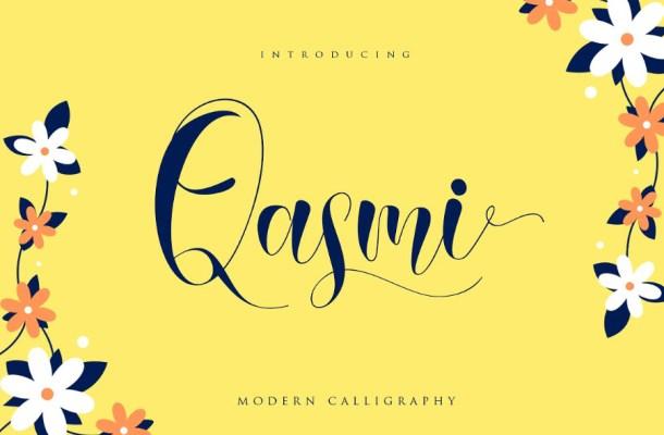 Qasmi Script Font