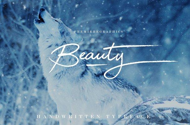 Beauty Script Font