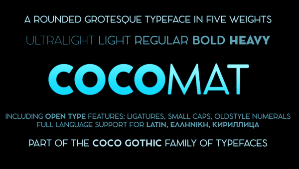 COCOMAT Font Family