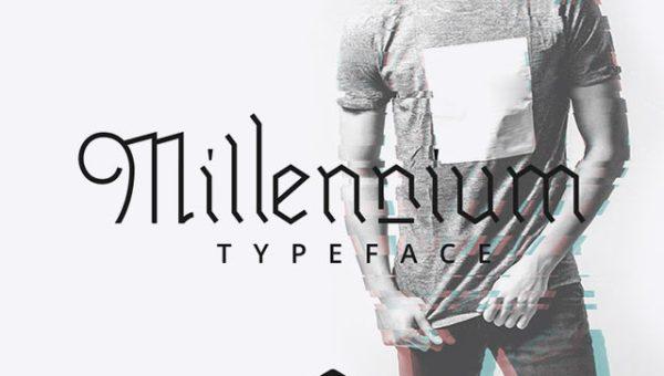 Millennium Blackletter Font