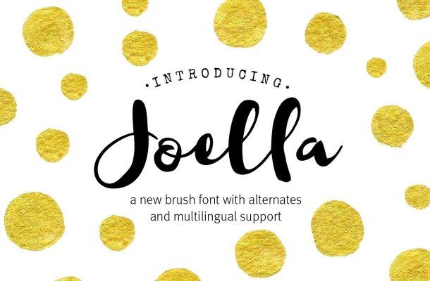 Joella Script Font