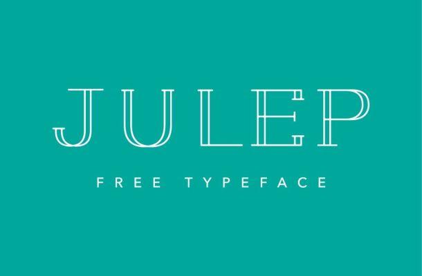 Julep Typeface