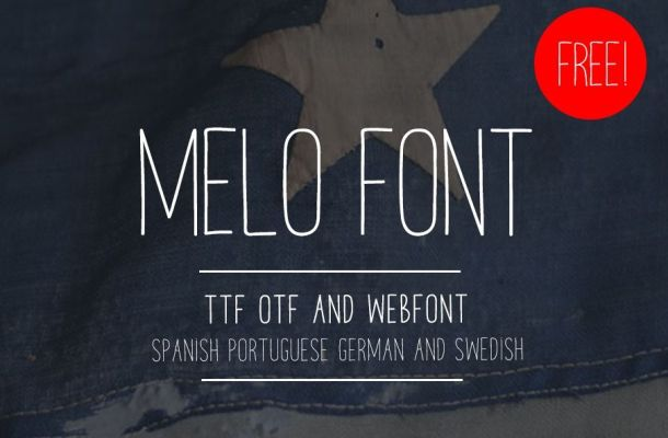 Melo Handwriting Font