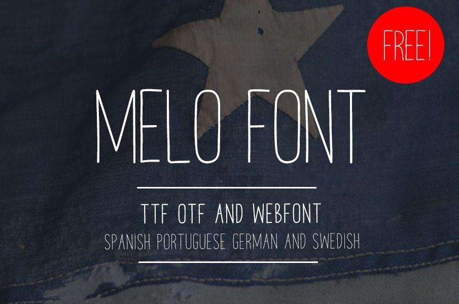 melof font