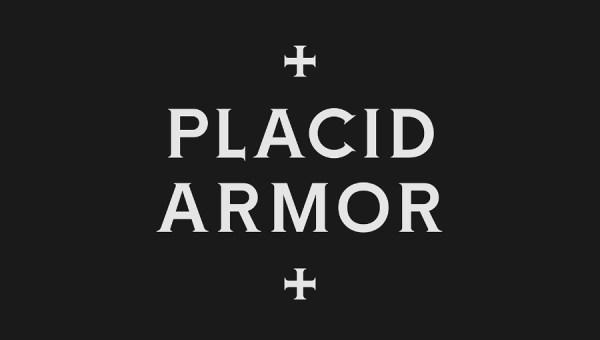 Placid Armor Free Font