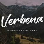 Verbena Typeface Free Font