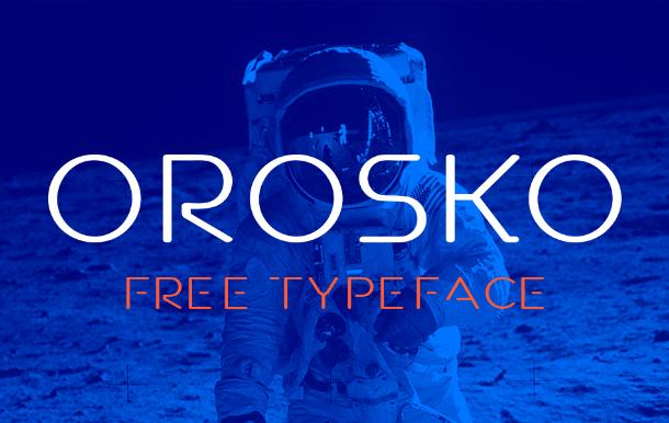 Orosko Display Font