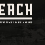 Reach Display Font