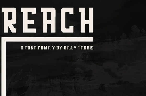 Reach Display Font