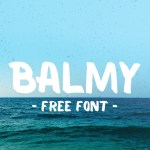Balmy Brush Free Font