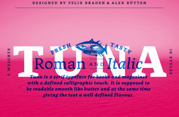 Tuna Typeface Free Font