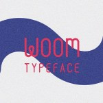 Woom Display Font