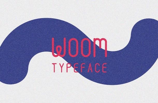Woom Display Font