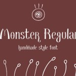 Monster Regular Font