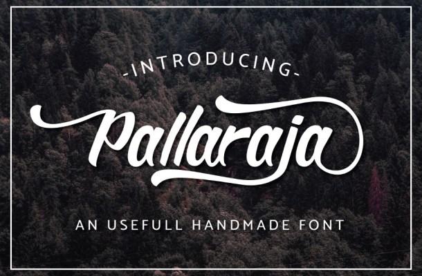 Pallaraja Script Free Font