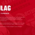 Kulag Display Font