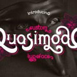 Quasimodo Typeface