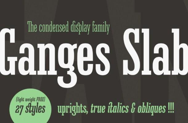 Ganges Light Free Font