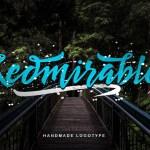 Redmirable Script Free Font