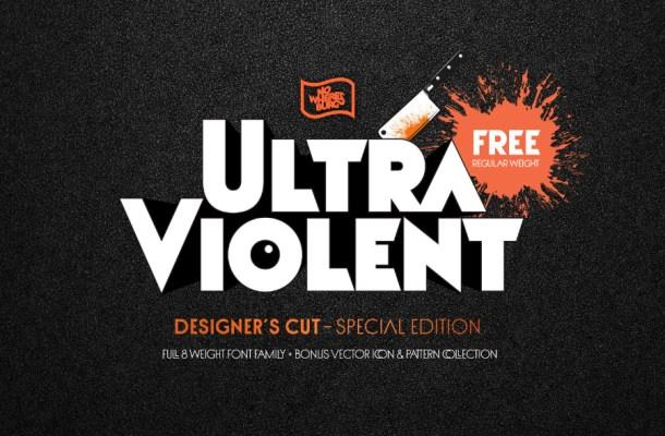 Ultraviolent Regular Font