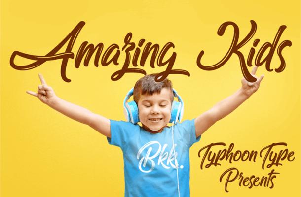 Amazing Kids Font