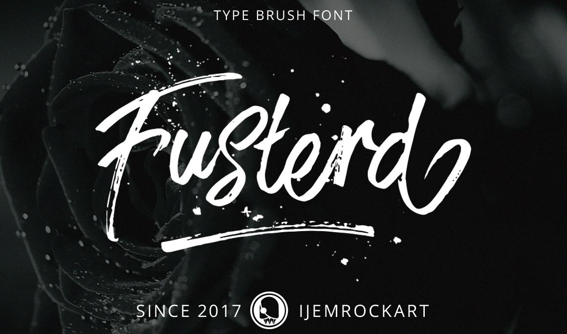 fusterd-brush-free-typeface