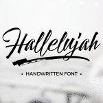 Hallelujah Script Free Font