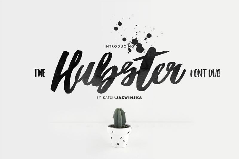 hubster-script-font