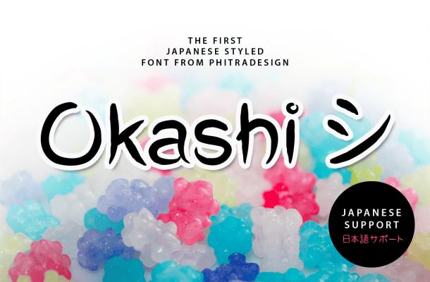 Okashi Free Font