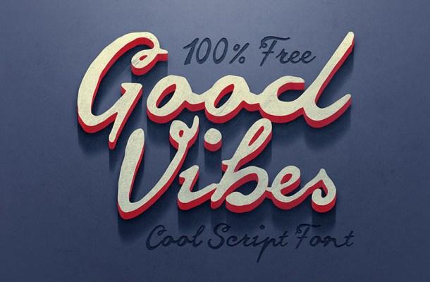 Good Vibes Free Font