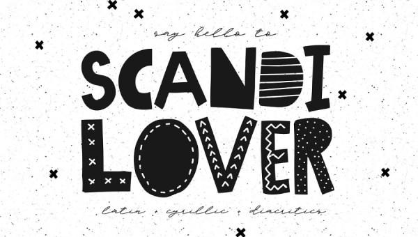 Scandilover Font