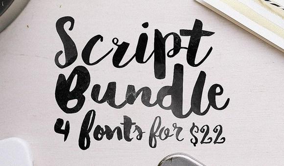 Script Bundle Free Font