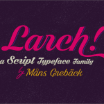 Shaded Larch Free Font