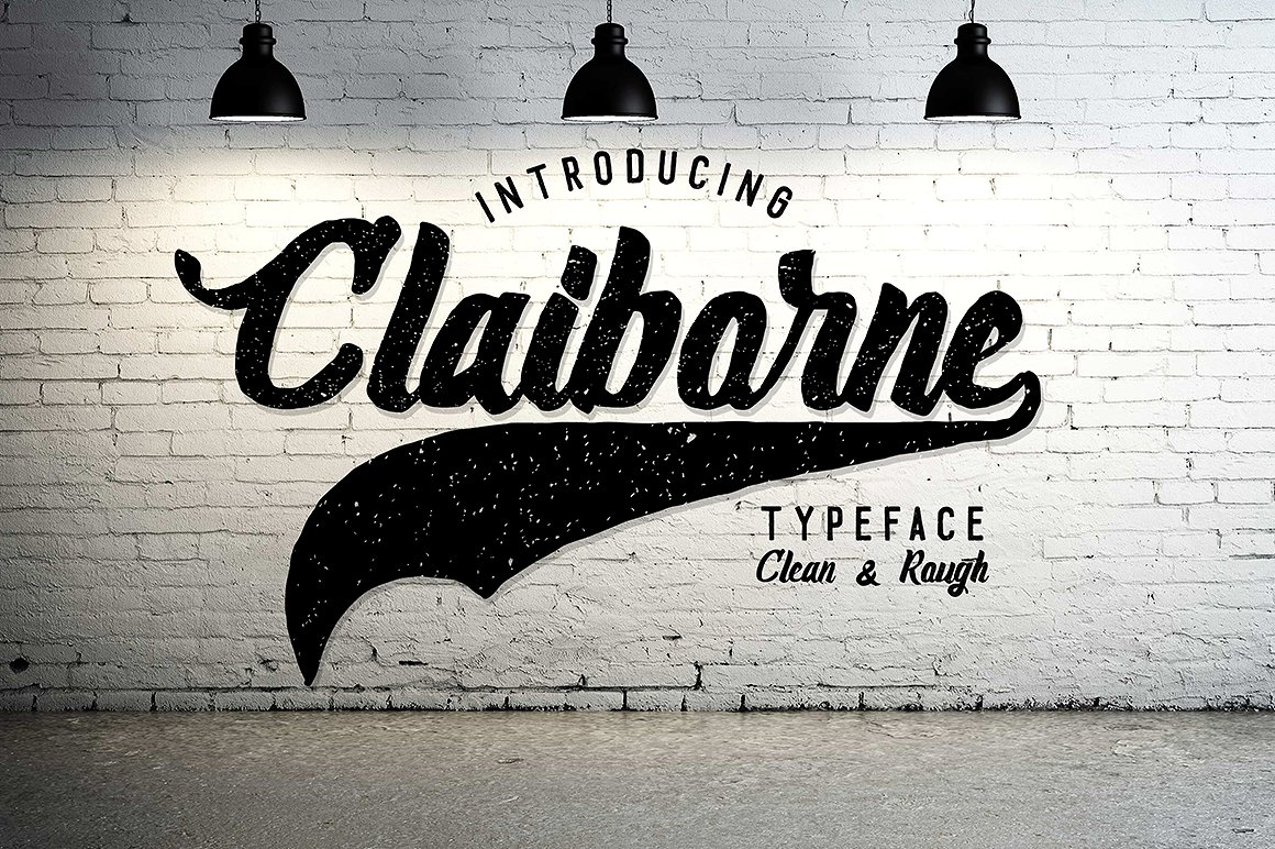 Claiborne Typeface