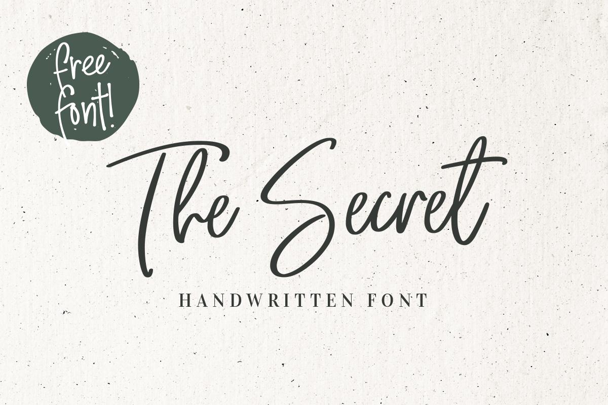 The-Secret-Font