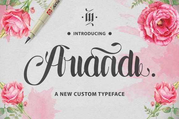 Ariandi Custom Typeface