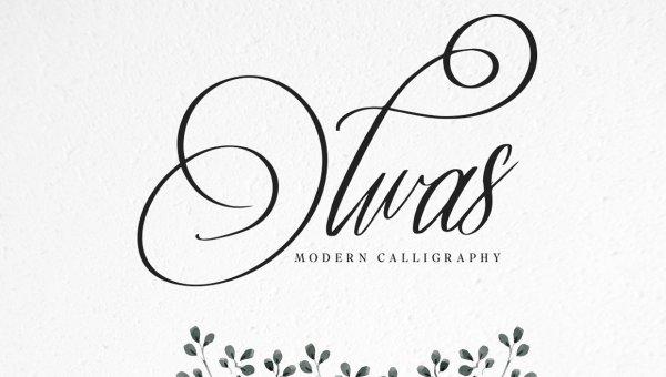 Olwas Script Font
