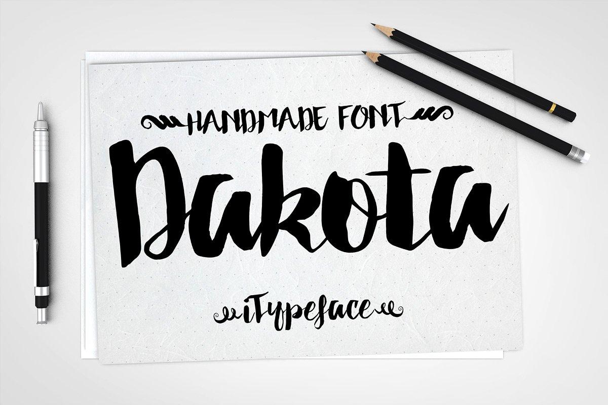 dakota-script-font