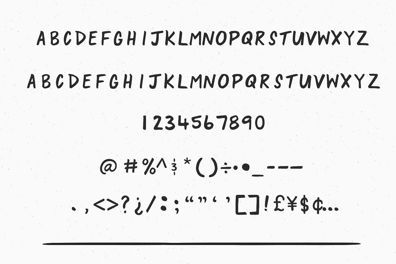 lazy-hand-font-3