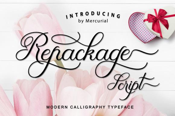 Repackage Script Font