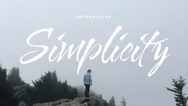 Simplicity Script Font