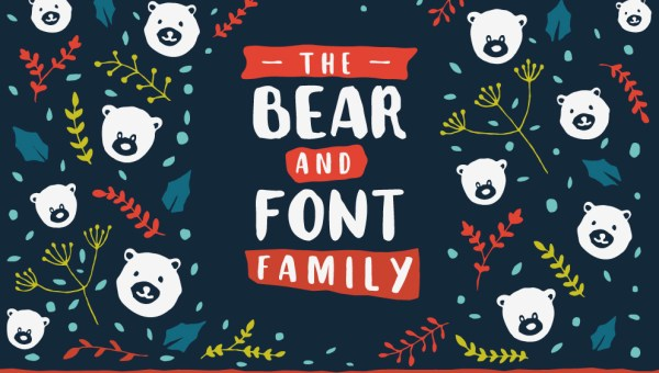 The Bear Font Family
