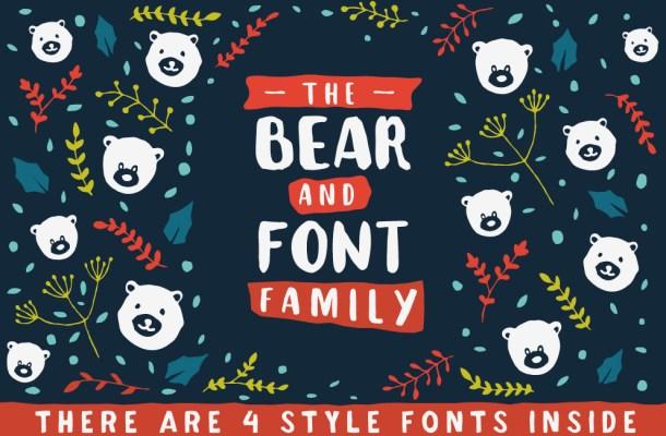The Bear Font Family