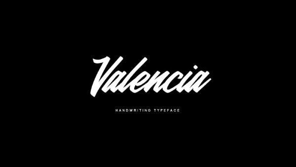 Valencia Calligraphy Font
