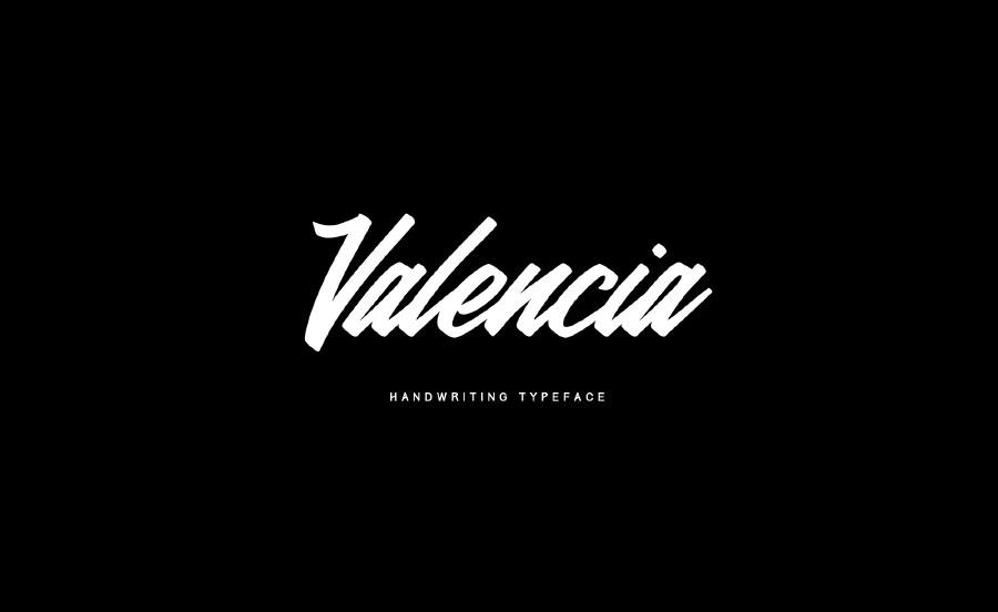valencia-calligraphy-font