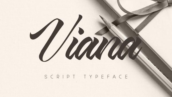 Viana Script Font
